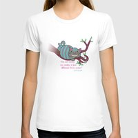 cheshire cat T-shirts featuring Cheshire cat by Pendientera