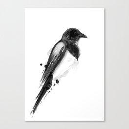Birdy No. 4 Canvas Print