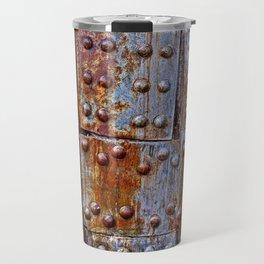 Rusty iron armour Travel Mug