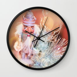 Dreamy nutcrackers 3 Wall Clock
