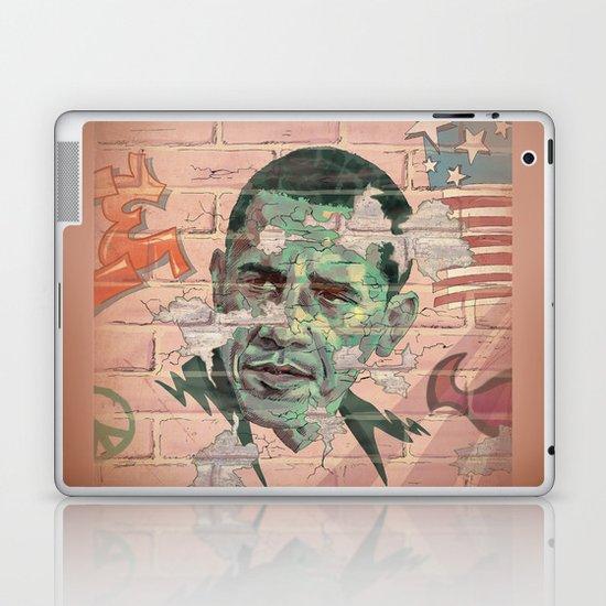 Obama Wall Laptop & iPad Skin