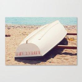 AFE Lifeguard Boat Canvas Print