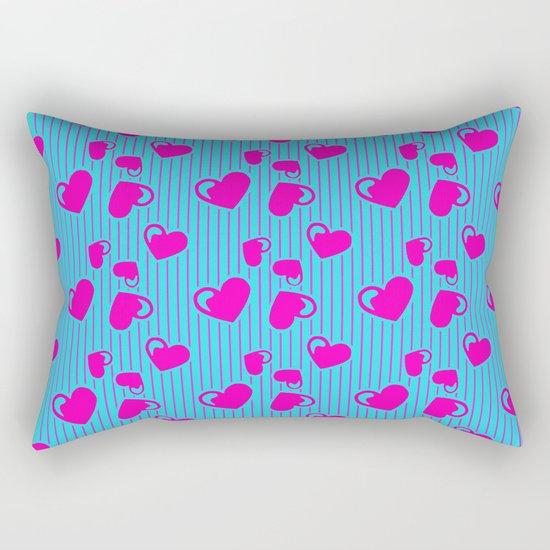 Love in a Stripe  Rectangular Pillow