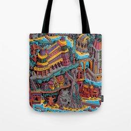 Mumbo Jumbo City (Color) Tote Bag
