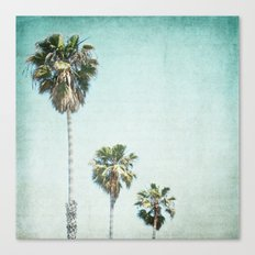 Letters From Those Sunny Days Canvas Print