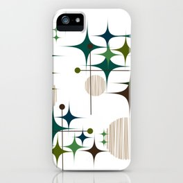 Starbursts and Globes 1A iPhone Case
