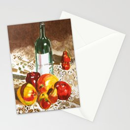 Sunny Poms and Mangoes Stationery Cards