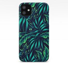 Jurassic Jungle - Green iPhone Case