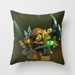 Zahru Trollarm Throw Pillow