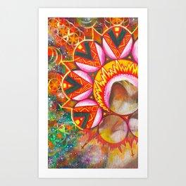 Masculine Energy Art Print