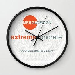 extremeconcrete tm Wall Clock