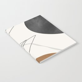 Abstract Art /Minimal Plant Notebook