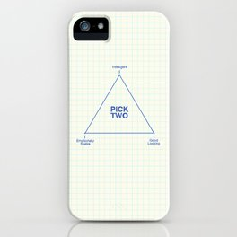 Pick Two iPhone Case