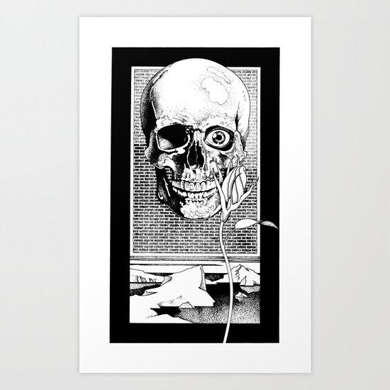 The Spectral Eye Art Print