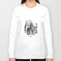 predator Long Sleeve T-shirts featuring Predator. by Gary Barling
