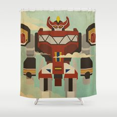 The Mega of the Zords Shower Curtain