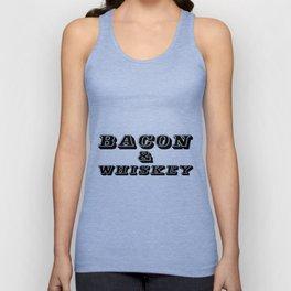 Bacon & Whiskey Unisex Tank Top