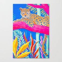 Exotic Jungle Canvas Print