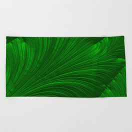 Renaissance Green Beach Towel