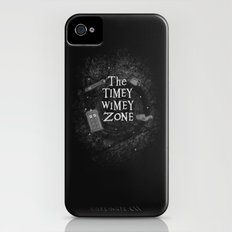 The Timey Wimey Zone Slim Case iPhone (4, 4s)