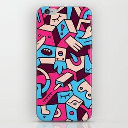 Dumbbell Fiasco iPhone Skin
