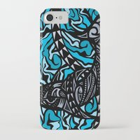 shark iPhone & iPod Cases featuring Shark by Lonica Photography & Poly Designs