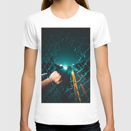 San Francisco Horizon in a Hole T-shirt