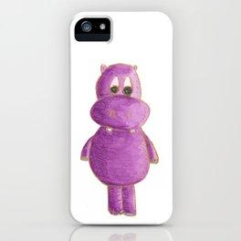 Violet Hipo iPhone Case