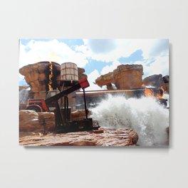HOLLYWOOD STUDIOS: Catastrophe Canyon Metal Print