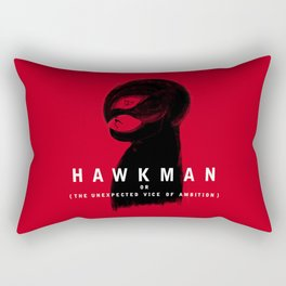 Hawkman or The Unexpected Vice of Ambition Rectangular Pillow