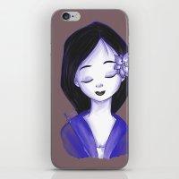 mulan iPhone & iPod Skins featuring Mulan by Lilolilosa