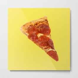 Pizza Love Metal Print