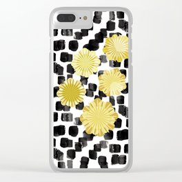 Exotique Clear iPhone Case