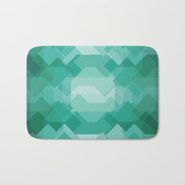 Emerald gem stone Bath Mat