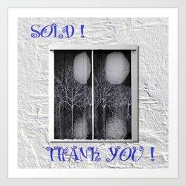 sold! thank you! BLOGPOST Art Print