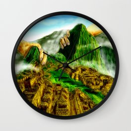 The Feel of the Lost World Wall Clock