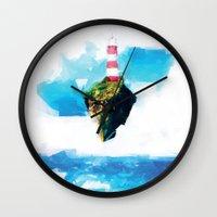 lighthouse Wall Clocks featuring Lighthouse by Vadim Cherniy