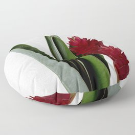 Red Flower Floor Pillow