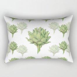 Artichoke Art Rectangular Pillow
