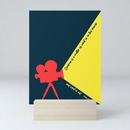 Minimal Movie Poster: Martin Scorsese Mini Art Print