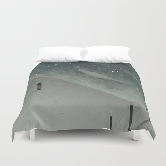 sea of stars Duvet Cover