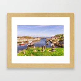 The Little Harbour Framed Art Print