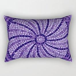 Ultra Violet Stone Tiles 18-3838 Rectangular Pillow