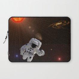 Astronaut Sun Stars Laptop Sleeve