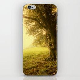 The Wizard Tree iPhone Skin