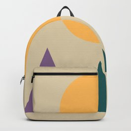 10 | 181117 Simple Geometry Shapes Backpack