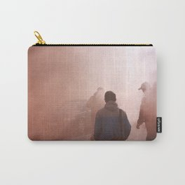 Red Smoke Streets Carry-All Pouch