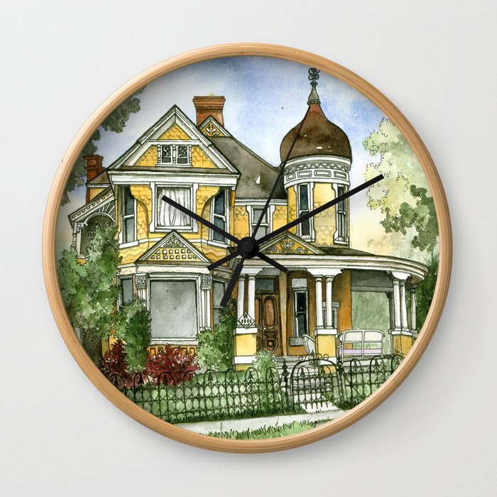 Victorian Summer Wall Clock
