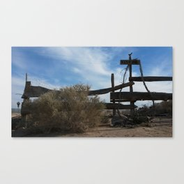 Keep Out. Canvas Print