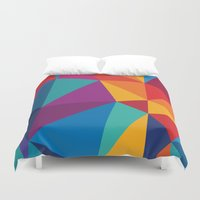 brain Duvet Covers featuring Brain by Sobhani